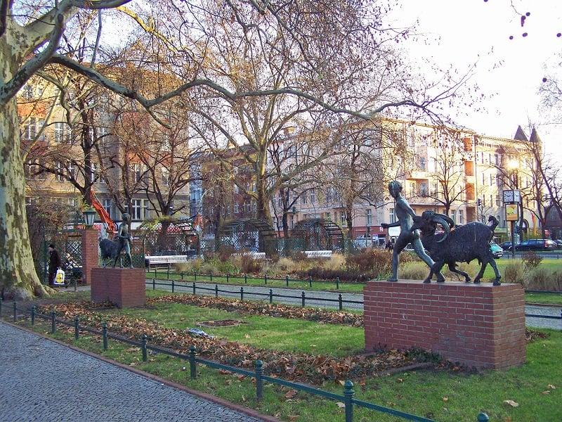 Savignyplatz em Berlim
