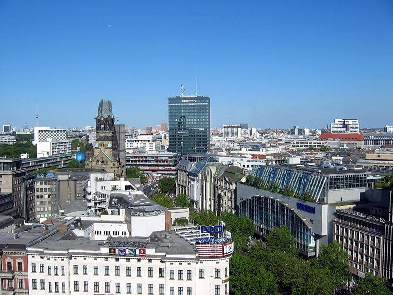 Bairros de Charlottenburg e Spandau em Berlim