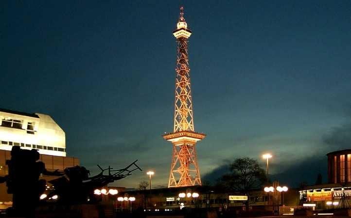 Funkturm em Berlim