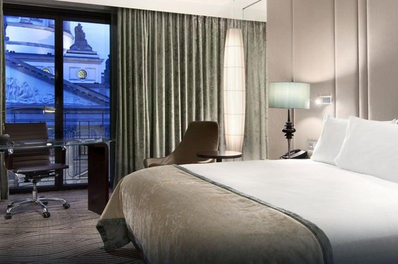 Quarto do Hotel Hilton em Berlim