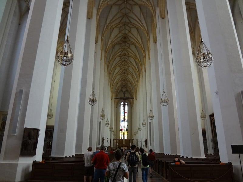 Interior da Catedral de Munique
