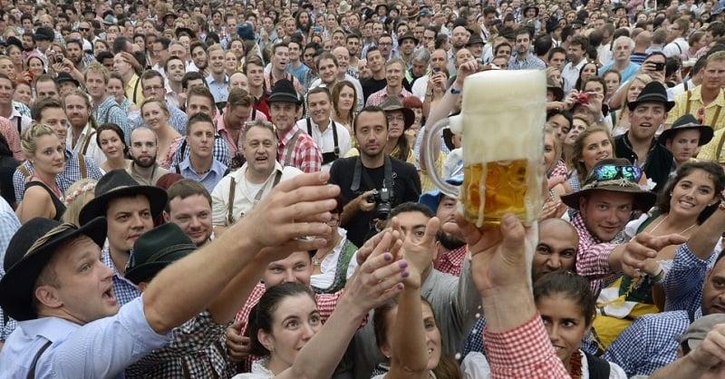 Litros de Cerveja na Oktoberfest