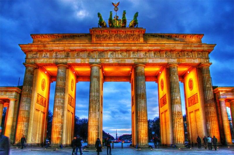 Portão de Brandemburgo em Berlin