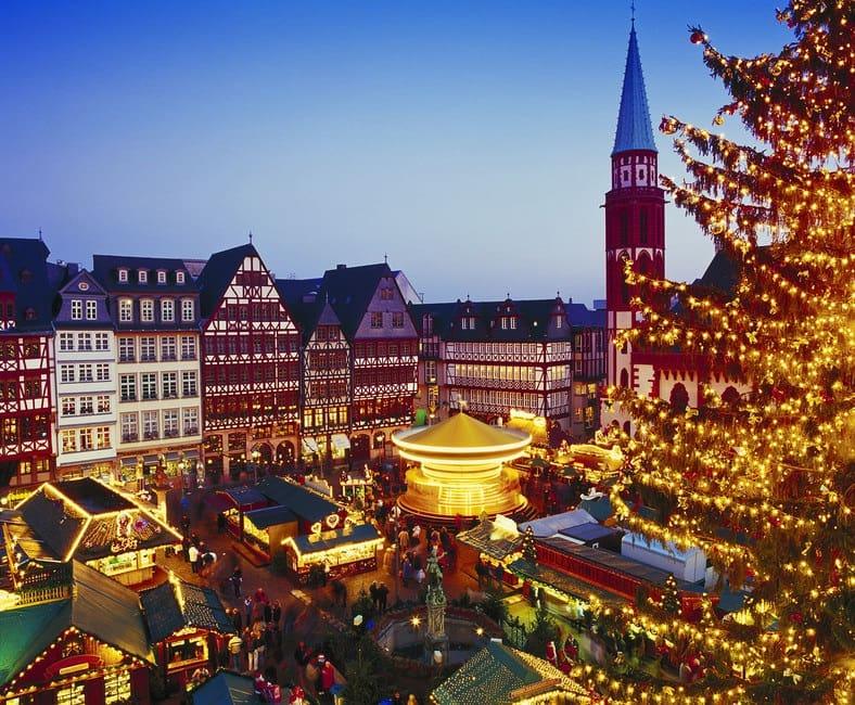 Feirinha de Natal na Römer