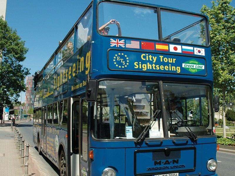 Passeio ônibus turístico em Frankfurt