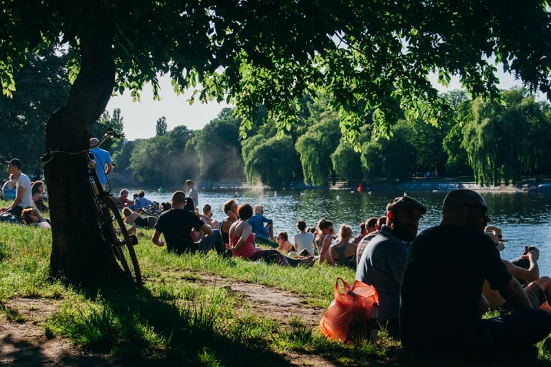 Parques em Berlim