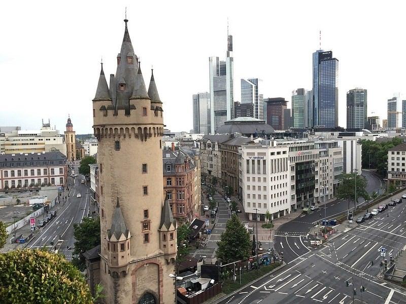 Eschenheimer Turm em Frankfurt