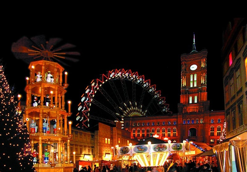 Mercado de Natal Berliner Weihnachtszeit