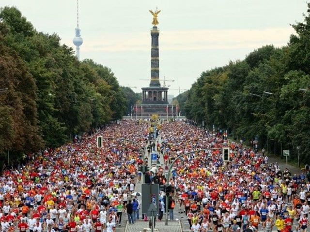 Calendário de corridas e maratonas na Alemanha em 2016