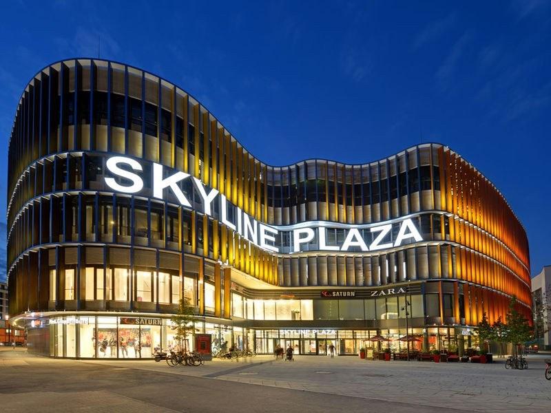 Shopping Skyline Plaza em Frankfurt
