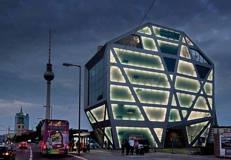 Humboldt-Box em Berlim