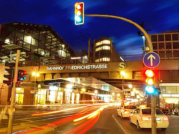S-Bahnhof Friedrichstrasse em Berlim