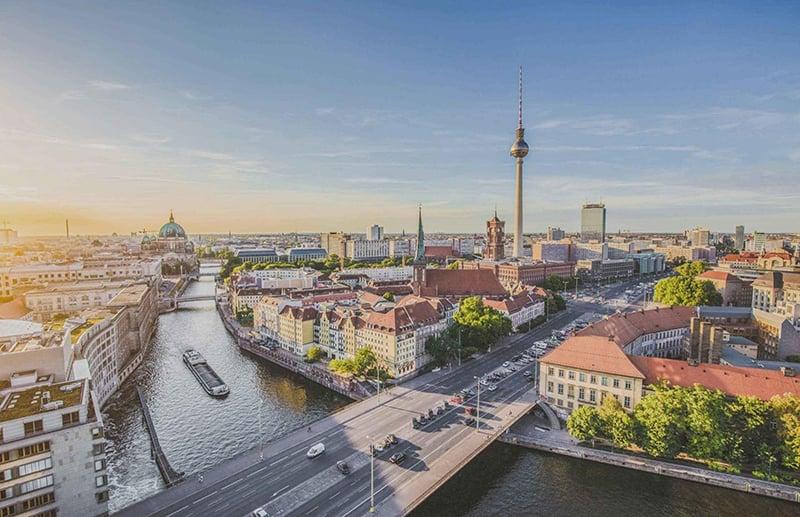 Primeiro dia de roteiro em Berlim