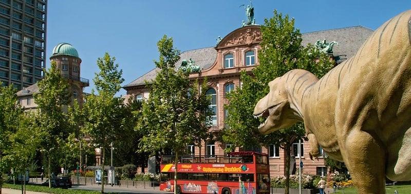 Museu História Natural em Frankfurt