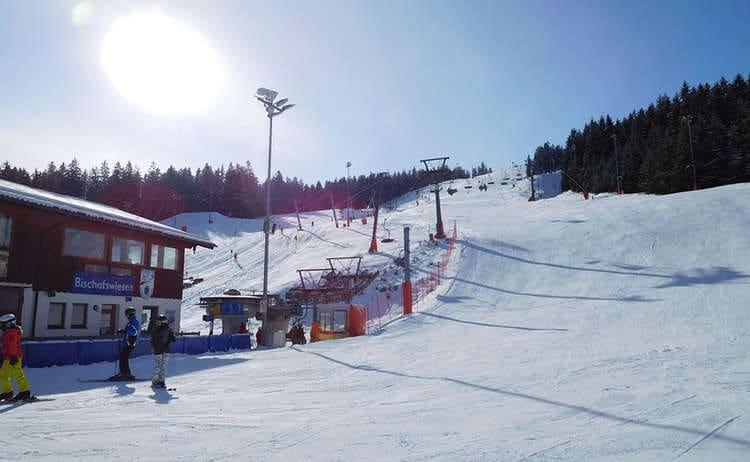 Götschen Ski Center na Alemanha