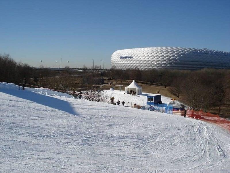 Skiarena na Alemanha