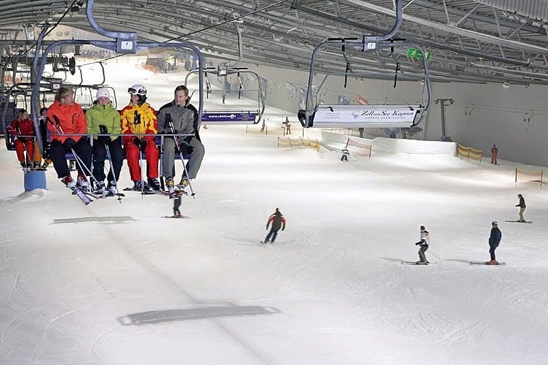 Skihalle Senftenberg na Alemanha