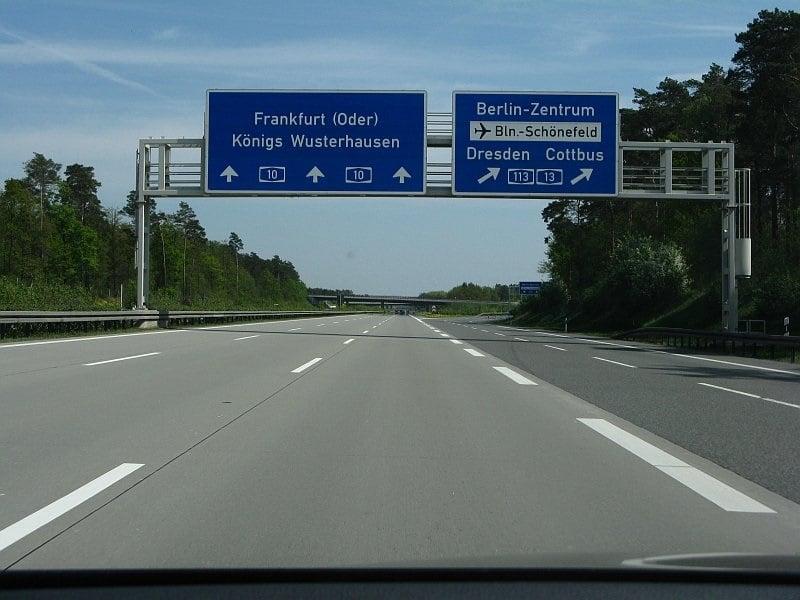 Autoestrada de Colônia a Berlim