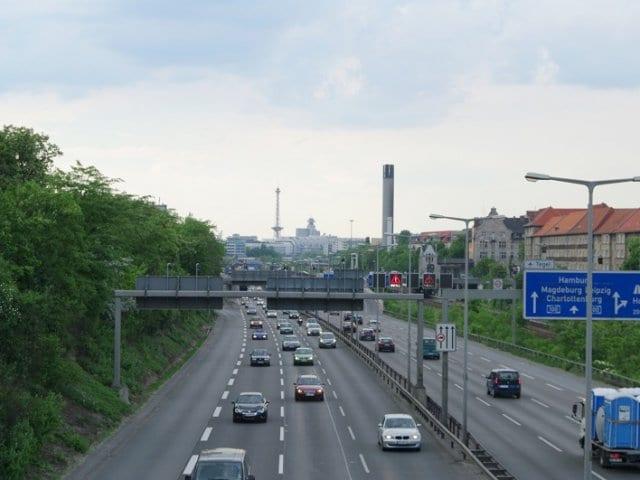 Viagem de carro de Frankfurt até Berlim