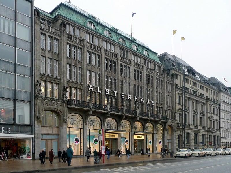 Loja de departamento Alsterhaus em Hamburgo