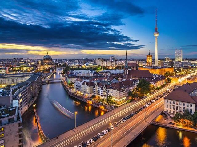 Como ir de Hamburgo até Berlim