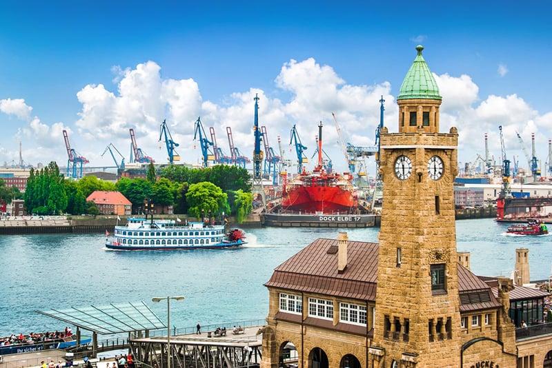 Fuso horário em Hamburgo