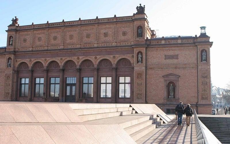 Museu Kunsthalle em Hamburgo