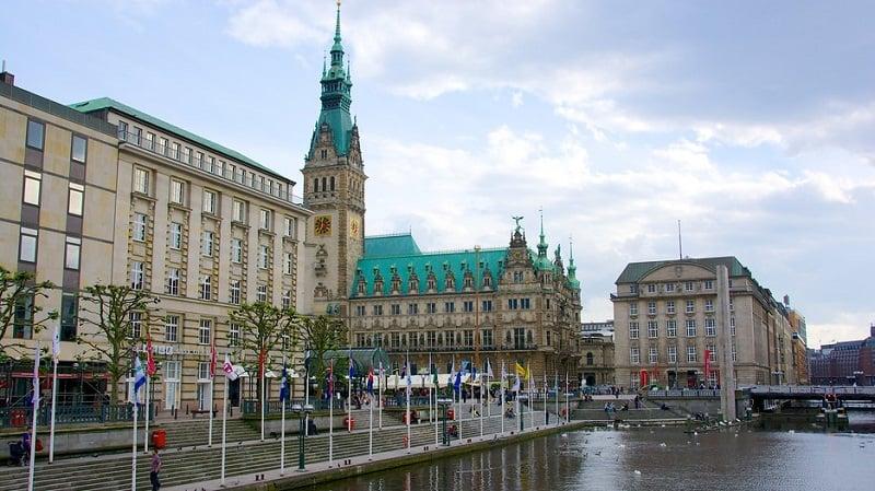 Rathaus em Hamburgo
