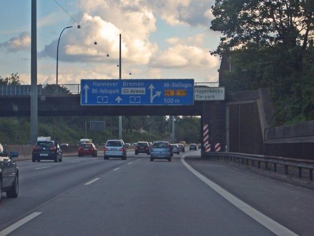 Viagem de carro de Munique até Hamburgo