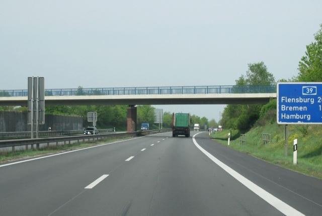 Viagem de carro de Frankfurt até Hamburgo