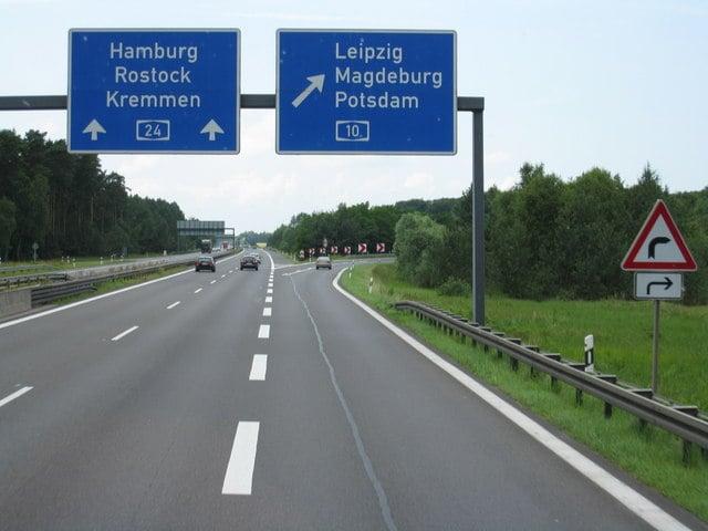 Viagem de carro de Berlim até Hamburgo