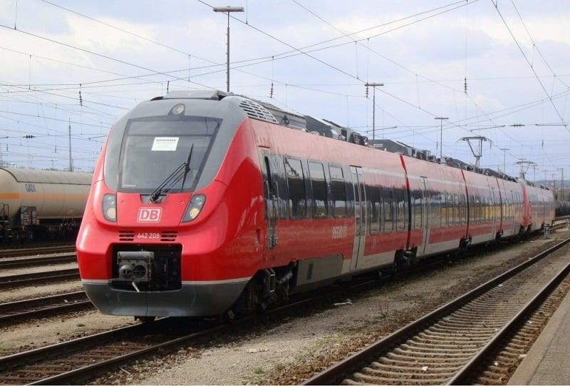 De trem de Colônia a Hamburgo
