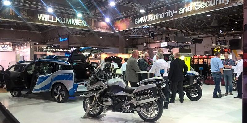 Feira de motos em Leipzig