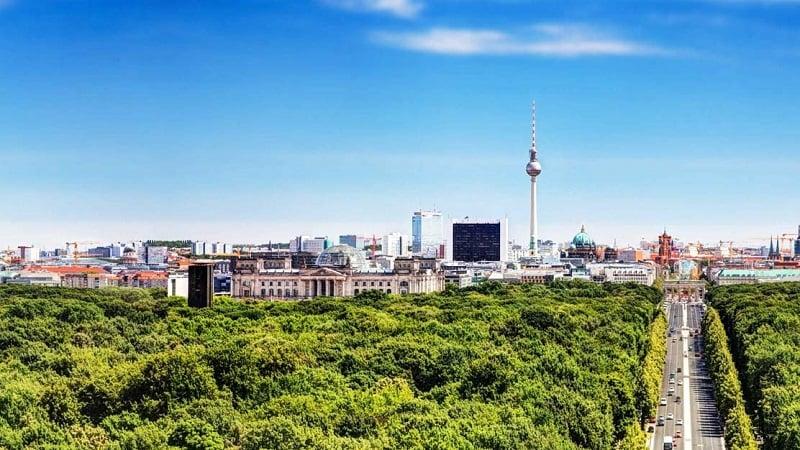 Berlim em Abril