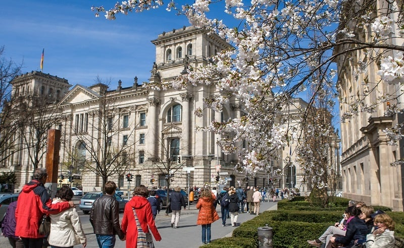 Berlim em Março