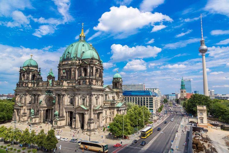 Área da Catedral de Berlim