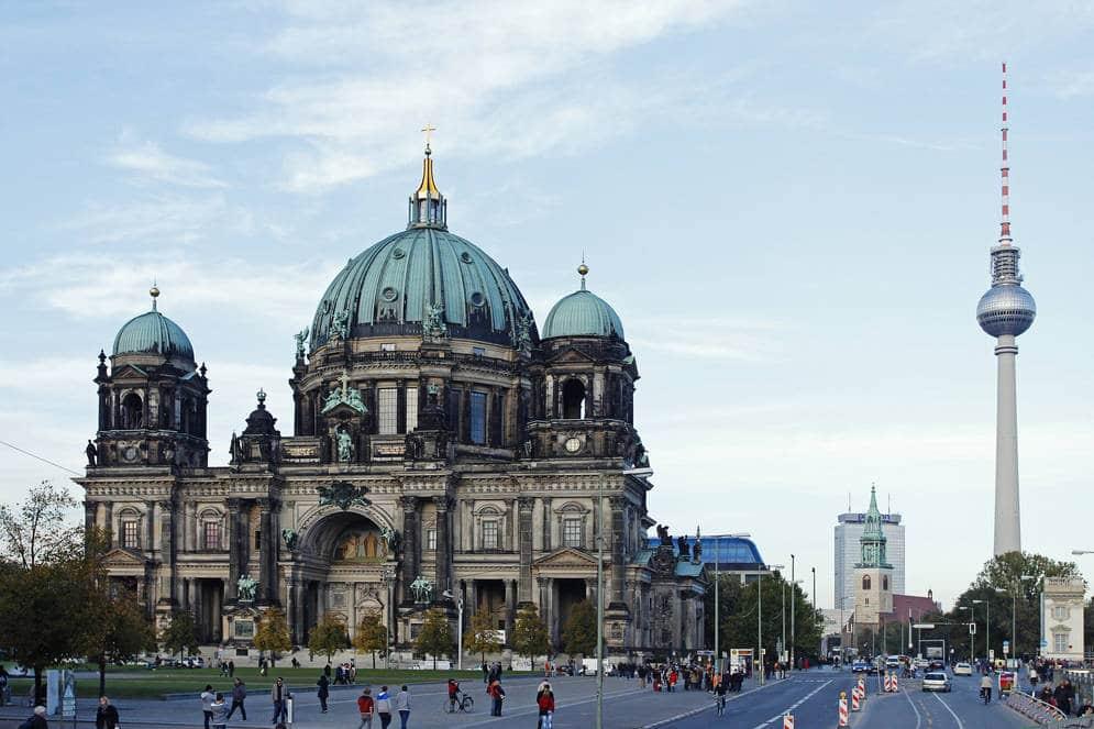 Excursão por Berlim Atual