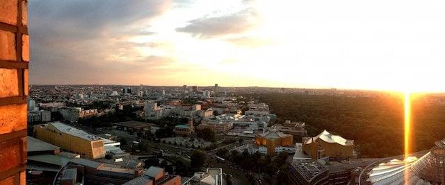 Vista do Panorama Punkt em Berlim