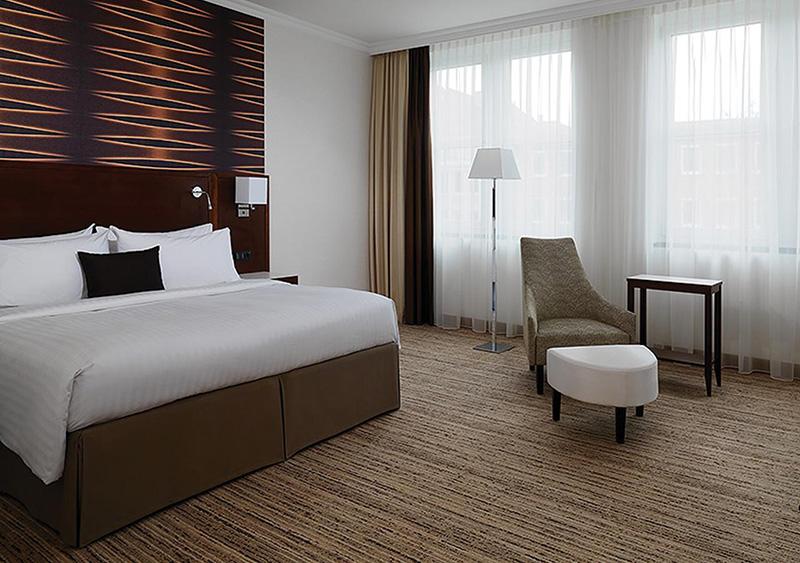 Suíte do Cologne Marriott Hotel