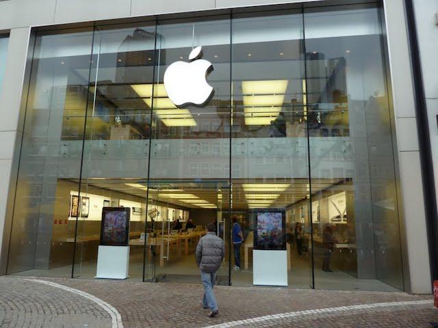Loja Apple em Frankfurt