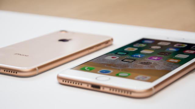 iPhone 8 e 8 Plus em Frankfurt