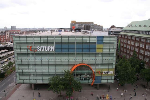 Loja Saturn em Hamburgo