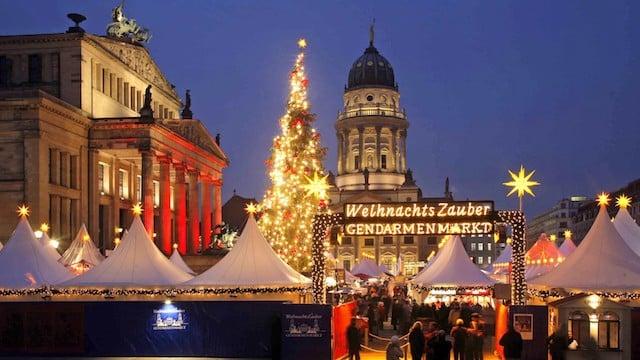 Mercado de Natal WeihnachtsZauber Gendarmenmarkt em Berlim
