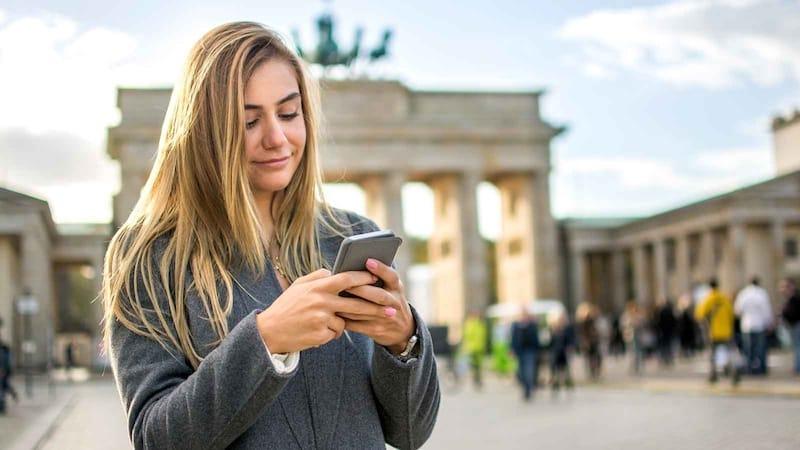 Celular em Berlim e Alemanha