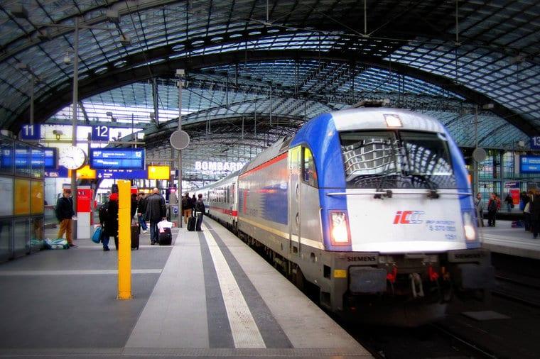 Estação na Alemanha
