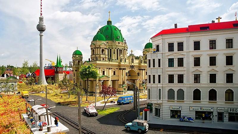Horário de funcionamento no Parque da Lego na Alemanha