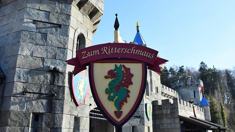 Knights' Kingdom e Adventure Land no Parque da Lego na Alemanha