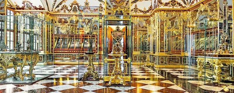Museu Grünes Gewölbe em Dresden