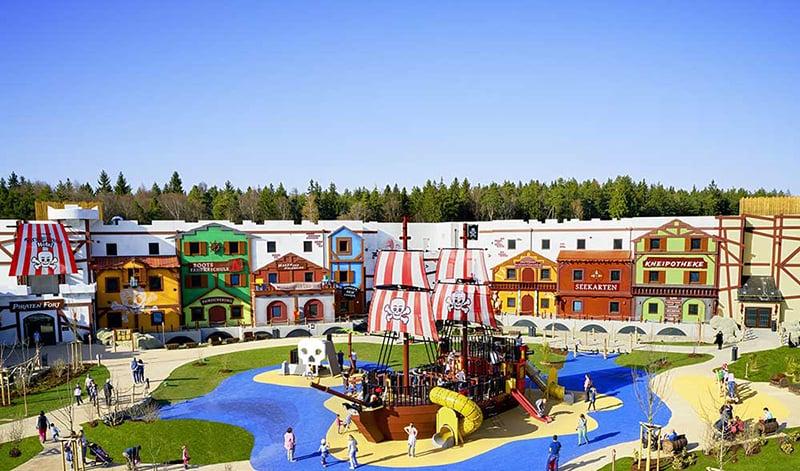 Pirate Land e Kingdom of the Pharaohs no Parque da Lego na Alemanha