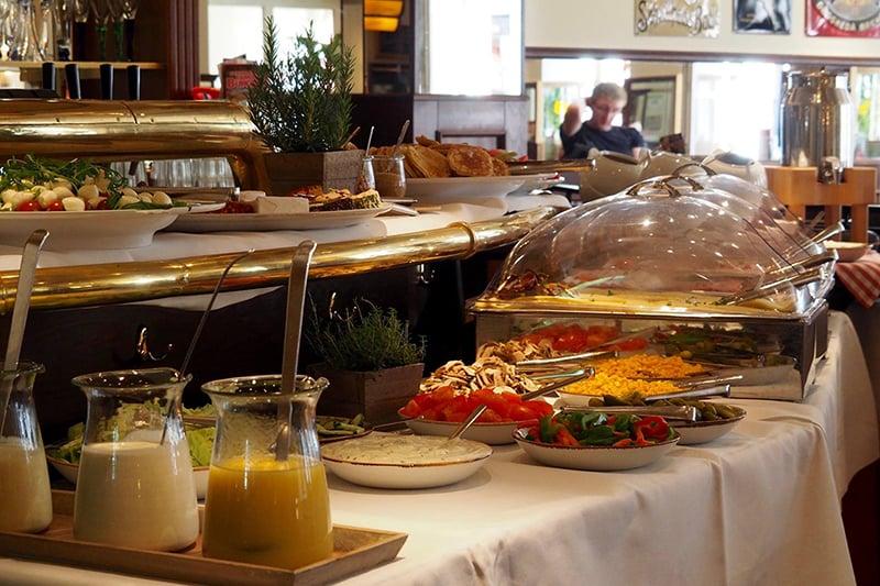 Restaurante Cafe Extrablatt em Colônia
